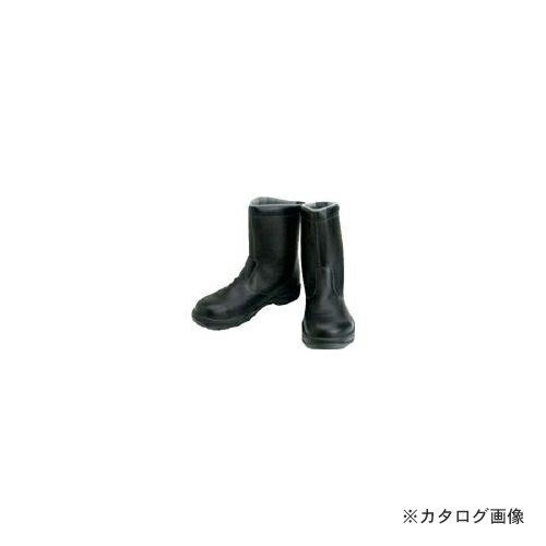 美品 シモン 安全靴 半長靴 SS44黒 27.0cm SS44-27.0