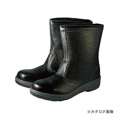 限定品 シモン 安全靴 半長靴 7544黒 26.0cm 7544N-26.0