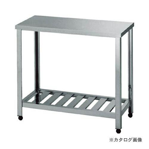 運賃見積り 直送品 アズマ 作業台スノコ板付 750×450×800 KT-750