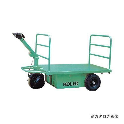 運賃見積り 直送品 コレック ウォーキー式電動運搬台車 1500Kg THP153