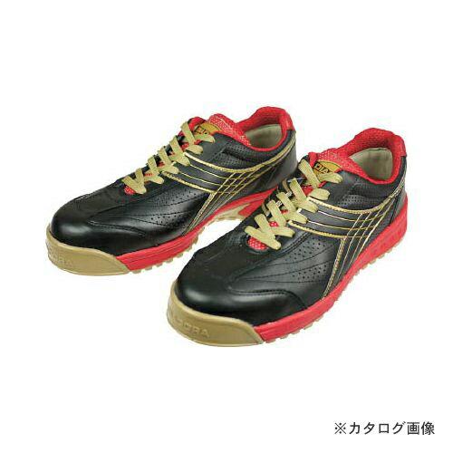 限定価格セール ディアドラ DIADORA 安全作業靴 ピーコック 黒 25.0cm PC22-250
