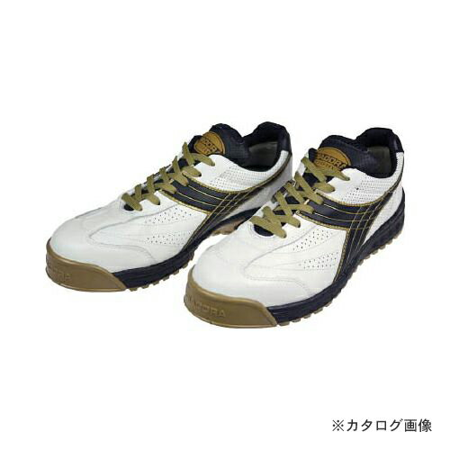 限定独占販売 ディアドラ DIADORA 安全作業靴 ピーコック 白/黒 28.0cm PC12-280