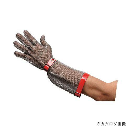 ミドリ安全 ステンレス製 耐切創手袋ロングタイプ MST-550 SS MST-550-SS