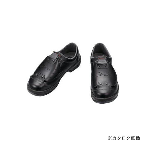 新しい季節 シモン 安全靴甲プロ付 短靴 SS11D-6 25.0cm SS11D-6-25.0