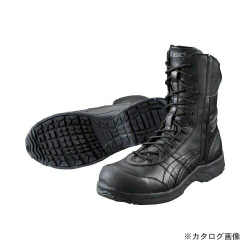 【あす楽対応】 アシックス ウィンジョブ500 ブラックXブラック 24.5cm FIS500.9090-24.5
