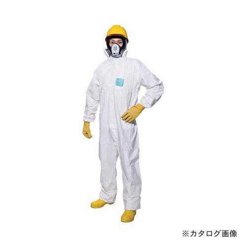 シゲマツ 使い捨て化学防護服 MG2000P XXL(10着入り) MG2000P-XXL