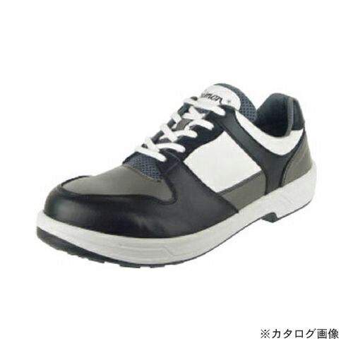 【定価】 シモン トリセオシリーズ 短靴 黒/グレー 26.0cm 8512BK/GR-26.0