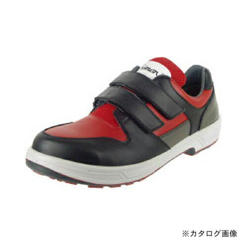 お値段見直しました 新作 シモン トリセオシリーズ 短靴 赤/黒 24.0cm 8518RED/BK-24.0