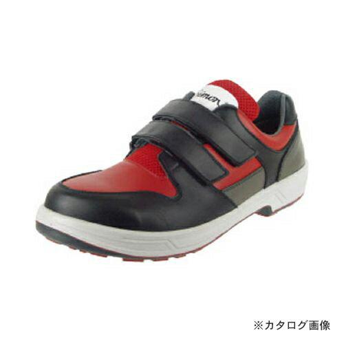 2016激安新作 シモン トリセオシリーズ 短靴 赤/黒 27.5cm 8518RED/BK-27.5
