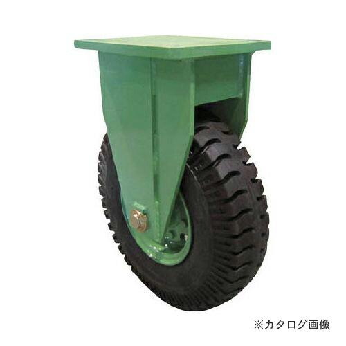 運賃見積り 直送品 佐野車輌 超重量級キャスター シングル固定車 荷重1000kgタイプ LPHK-1000