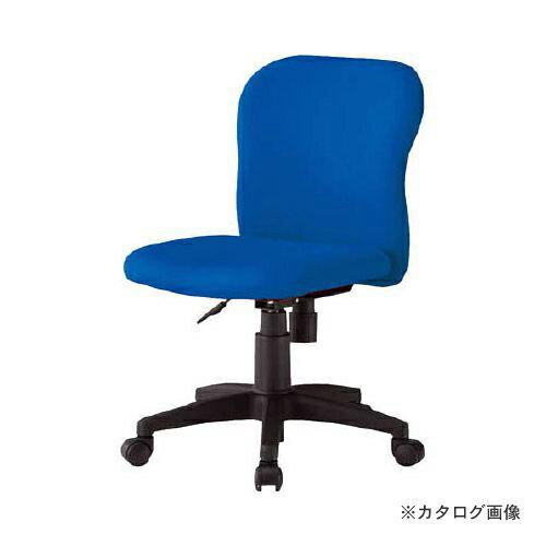 運賃見積り 直送品 TOKIO オフィースチェア ブルー FST-60 BL