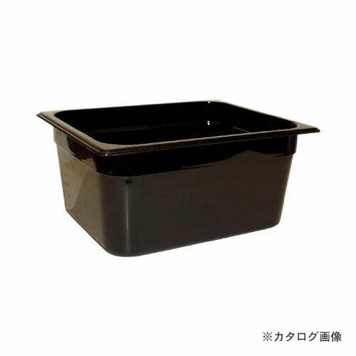 ラバーメイド フードパン (ホットパン) ブラック 6個 239P07