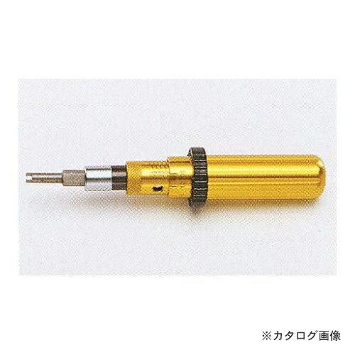 タスコ TASCO TA771TD-1 バルブコア (ムシ) 用トルクドライバー