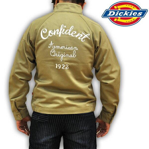 ディッキーズ Dickies T/Cスウィングトップ ワークジャケット T/Cツイル 刺繍 133M10WD07 AC メンズ