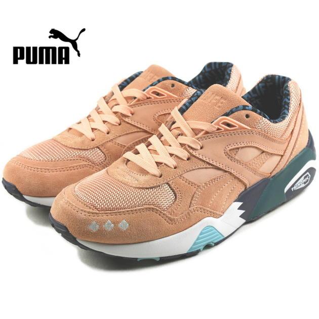 プーマ PUMA R698 X ALIFE R698 × エーライフ ピーチバド/リヨンブルー 360749-01