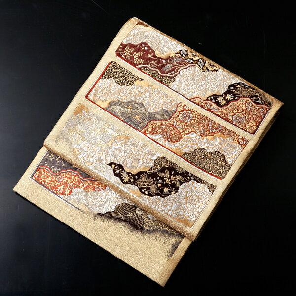 厳選高級袋帯西陣老舗メーカー加納幸謹製【obi-24-265】