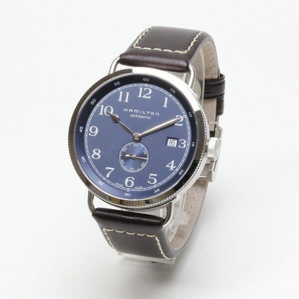 正規品 ハミルトン腕時計 H78455543カーキネイビーパイオニア40mm青文字盤/ブラウンカーフストラップメーカー2年保証 HAMILTON KhakiNavyPioneer40mm【送料無料】【ポイント15倍】