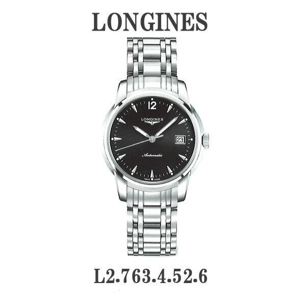 正規品 ロンジン腕時計 L2.763.4.52.6ロンジン サンティミエ (メンズ)LONGINES-The Longines Saint-Imier-L2.763.4.52.6メーカー2年保証【送料無料】