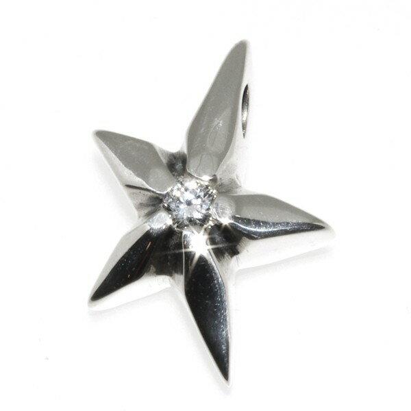 BWL(ビルウォールレザー)シューティングスターペンダント Shooting Star w/Star PN978S
