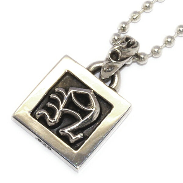 CHROME HEARTS(クロムハーツ)Framed Letter Block N フレームドレターブロックN