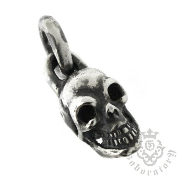 Gaboratory(ガボラトリー) Single skull Miniature pendant シングルスカル/ミニペンダント【トップのみ】 ML149-A