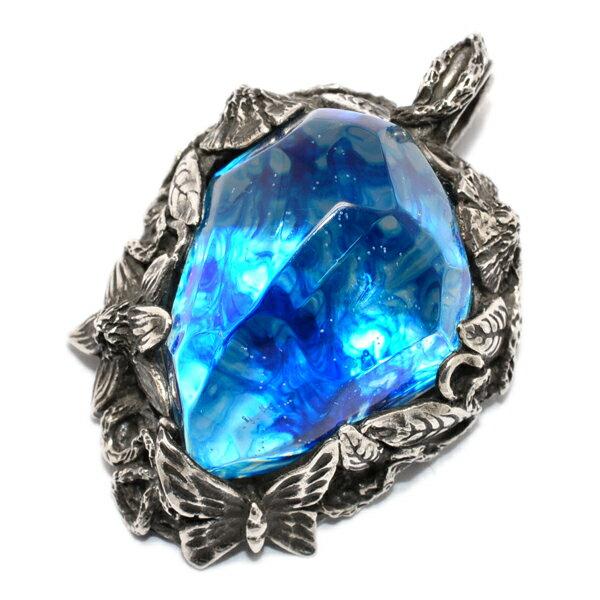 LYLY ERLANDSSON(リリーエルランドソン)the WINTER male/ ICE BLUE ザ・ウィンターペンダント アイスブルー メンズ