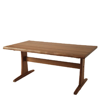 キツツキのマークの飛騨産業 木かげシリーズ FK363WP LDテーブル(W150)