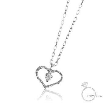 808caaa7efeb42 me. ダイヤ/ハートネックレス 【ネックレス】【necklace】【首飾り】【ペンダント】【レディース】【Lady's 女性用】【DIAMOND】