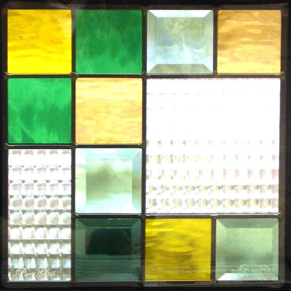 セブンホーム ステンドグラス ピュアグラス Eサイズ SH-E04