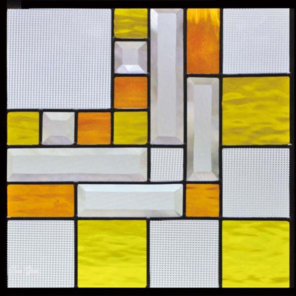 セブンホーム ステンドグラス ピュアグラス Fサイズ SH-F04