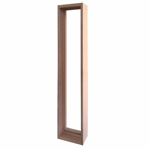 セブンホーム ステンドグラス ピュアグラス オプション Jサイズ 専用木枠 『ガラスと同時購入価格』