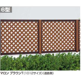 四国化成 ハイ パーテーション6型 本体 1012サイズ HPT6-1012 【ラチス 樹脂フェンス 柵】