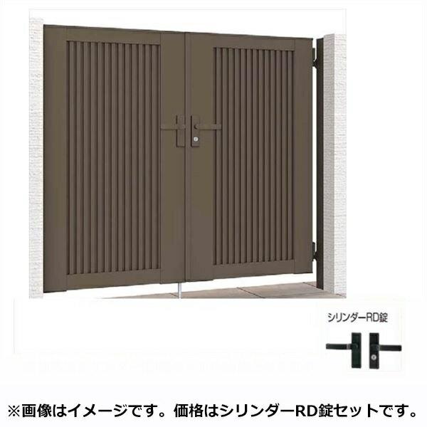 リクシル TOEX ライシス門扉6型 柱仕様 09-12 片開き 『リクシル』