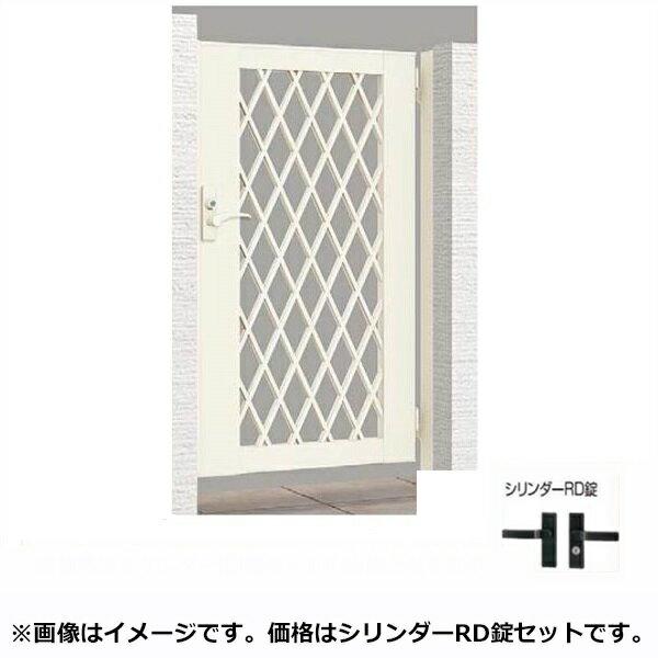リクシル TOEX ライシス門扉8型 柱仕様 07-10 片開き 『リクシル』