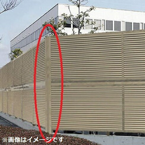 四国化成 防風・防音フェンス オプション 02:コーナージョイント 2段用 12(上)-12(下)用 02DCJ-24SC 【アルミフェンス 柵】 ステンカラー