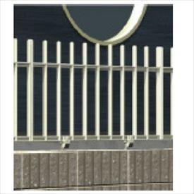 金森メタル ラインフェンス3型 本体 高さ800mm 【支柱は別売】 【アルミ鋳物製】 【アルミフェンス 柵】