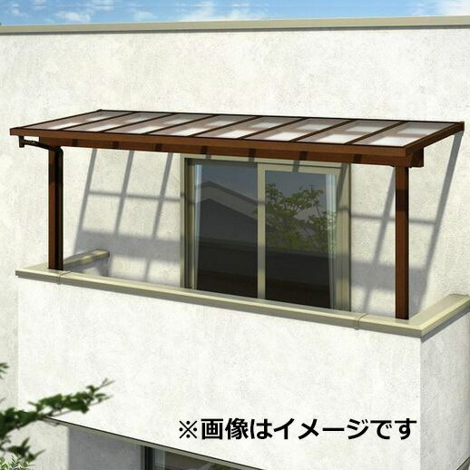 YKK ap サザンテラス パーゴラタイプ 2階用 関東間 600N/m2 3.5間×6尺 (2連結) 熱線遮断ポリカ屋根