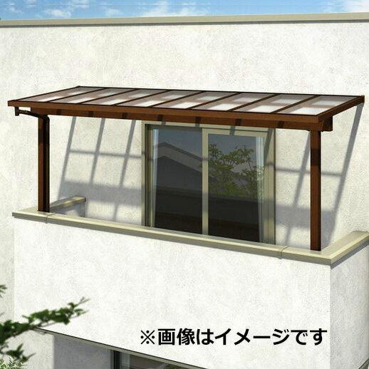 YKK ap サザンテラス フレームタイプ 2階用 関東間 600N/m2 4間×6尺 (2連結) ポリカ屋根