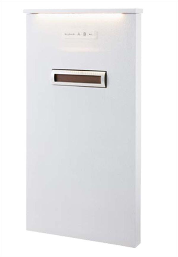 トーシン 機能門柱 レジェール800 (LED照明付き笠木タイプ) 組合せ例 P23-1 GW-LGR800-L-WH
