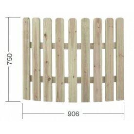タカショー e-ウッドフェンス7型(アメリカン)R 【緑化 天然木フェンス 柵】 別注塗装済み(ホワイト以外)
