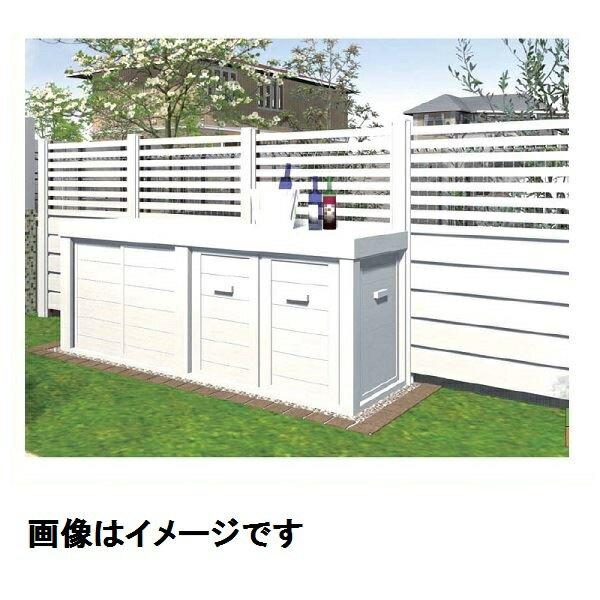 『 単独施工不可 』 メイク  快天浴収納庫 (快天浴フェンス・Kフレーム専用)  オプション  棚板  D450  ・FMTN45