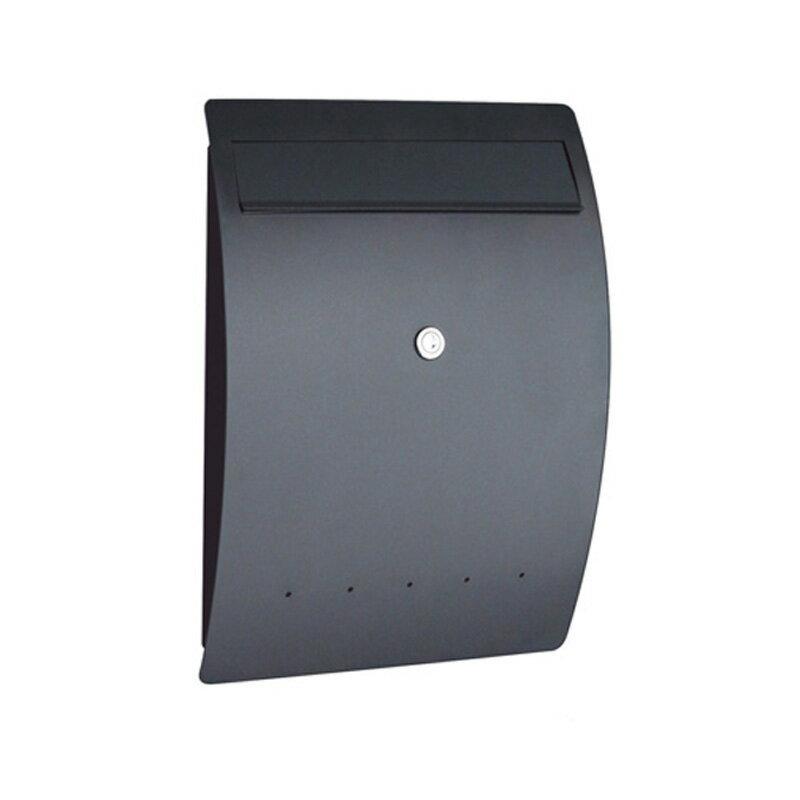 オンリーワン ゼラフィーニ メールボックス エルベ SG1-450BK 【郵便ポスト】 ブラック