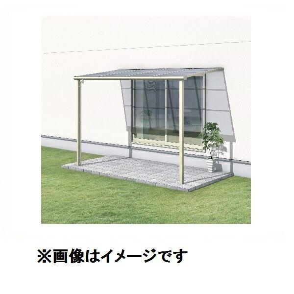 三協アルミ レボリューA 3.0間×3尺 600タイプ/メーターモジュール/1階用F型/標準収まり/2連結 熱線遮断ポリカ 『テラス屋根』