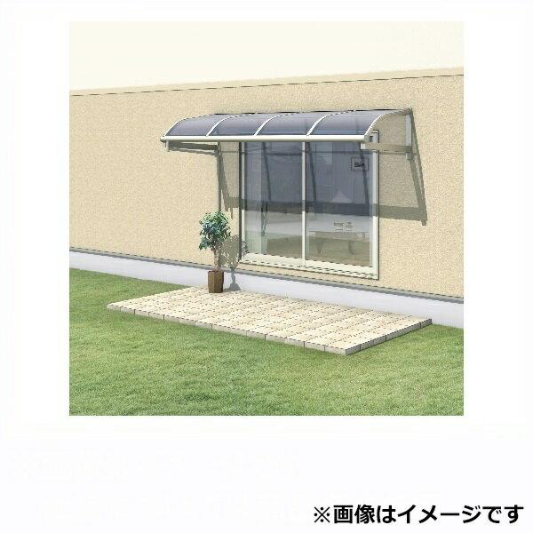 三協アルミ レボリューA 5.0間×3尺 600タイプ/メーターモジュール/1・2階用R型/柱なし式/3連結 ポリカーボネート ※雨トイは3m×6本を手配します 【テラス屋根】