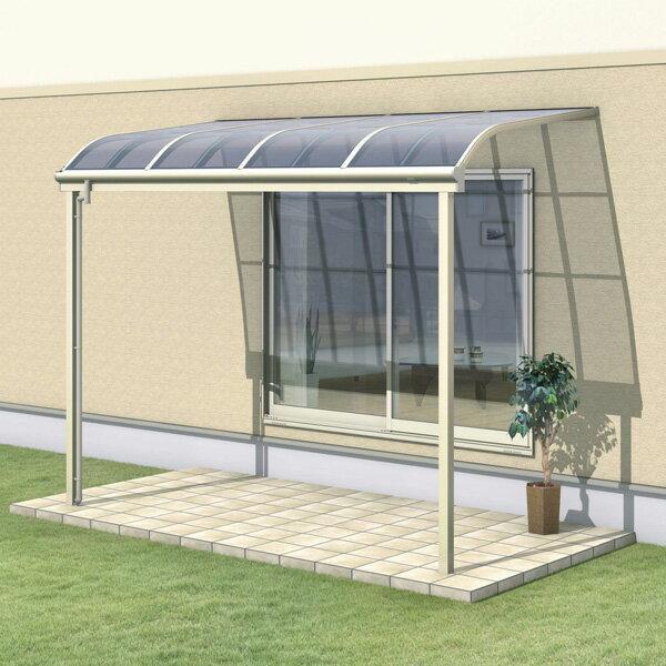 三協アルミ レボリューZ 4.0間×3尺 3000タイプ/関東間/1階用R型/標準収まり/2連結  『テラス屋根』 ポリカーボネート