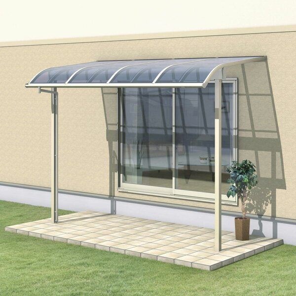 三協アルミ レボリューZ 3.5間×4尺 3000タイプ/関東間/1階用R型/出幅移動収まり/2連結  『テラス屋根』 熱線遮断ポリカ