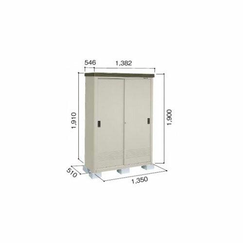 ヨド物置 エ�ミニ YMEM-1305H 『断熱構造�屋外用�型物置 追加金��工事も出����  ダークブラウン