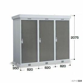 『���関�・�海�定� イナ�物置 NXN-08DL 豪雪地型 基本棟(2連棟) 屋外用ドアタイプ連続型物置 PG