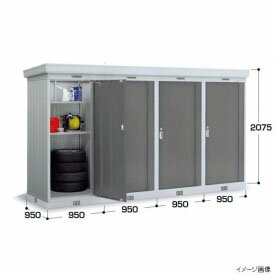 『���関�・�海�定� イナ�物置 NXN-09DL 豪雪地型 基本棟 *1棟目���価格 PG