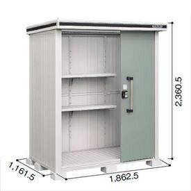ヨド物置 エルモ LMD-1811H 一般型 『追加金��工事も�能 屋外用中型・大型物置�  エ�ーグリーン